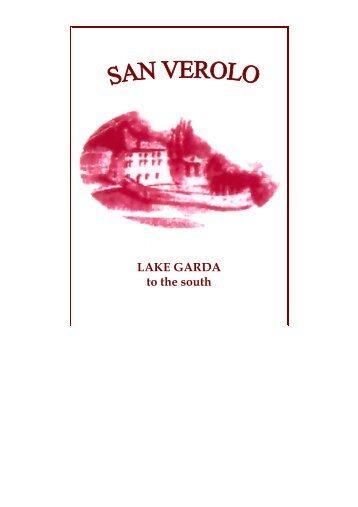 LAKE GARDA to the south - Locanda San Verolo