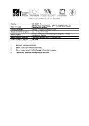 Výukový materiál - Veterinární a farmaceutická univerzita Brno