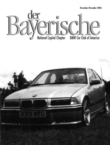 c National Capital Chapter BMW Car Club of America