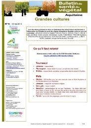 BSV - Chambre d'Agriculture de la Gironde