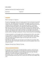 NIEUWSBRIEF Regioteam Informele Zorg I Praktische Thuishulp ...