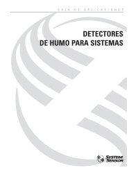 DETECTORES DE HUMO PARA SISTEMAS - System Sensor Canada