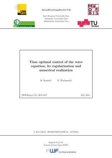Time optimal control of the wave equation, its regularization and ...