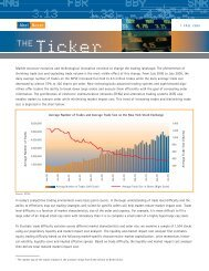 Market structure evolution and technological ... - Abel/Noser Corp.