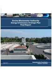 Encina Wastewater Authority Energy & Emissions Strategic Plan ...