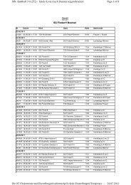 Page 1 of 8 SIS-Handball 3.9 (252) - Spiele-Liste (nach Datum ...