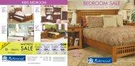 Bedroom Sale Sale - Naturwood
