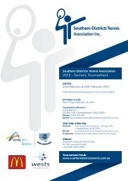 download entry form - Southern Districts Tennis Association