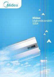 Midea légkondícionáló katalógus 2009 - Klíma