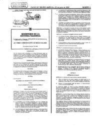 acuerdo gubernativo número 210-2005 - Ministerio de la Defensa ...