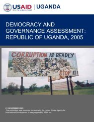 Democracy and Governance Assessment: Republic of ... - All Africa