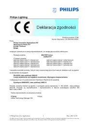 master cdm-et(-tt) - Philips Lighting Poland