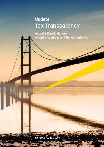 Update Tax Transparency - Schweiz