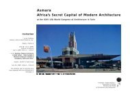 Asmara Africa's Secret Capital of Modern Architecture