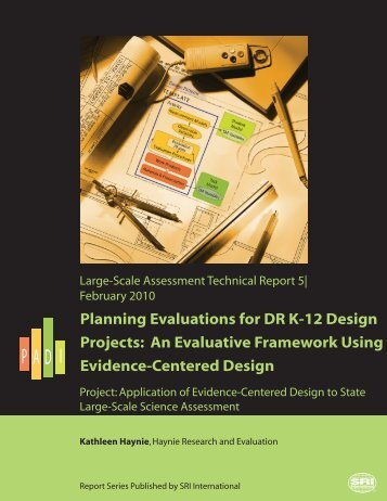 An Evaluative Framework Using Evidence-Centered Design