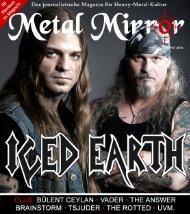 METAL MIRROR #58 - Iced Earth, Bülent Ceylan, Vader, Tsjuder ...
