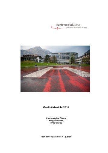 Qualitätsbericht 2010 - Kantonsspital Glarus