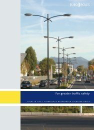 For greater traffic safety - Europoles