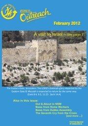 Assemblies Outreach Magazine - Christian Brethren in NSW