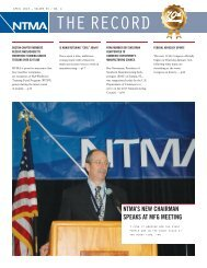 April 2013 Volume 34, No. 4 - National Tooling and Machining ...