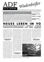Wadenbeißer Nr. 74 vom 28.04.2008 [PDF] - ADF ...