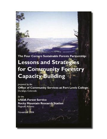 Acknowledgements - Western Forestry Leadership Coalition