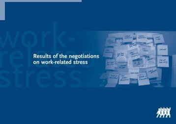 ETUI Brochure stress - The Institute of Employment Rights