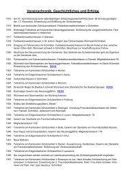 Vereinschronik, Geschichtliches und Erfolge - Schützengesellschaft ...