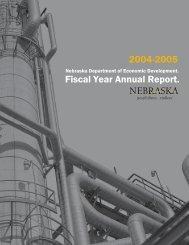 2005 Annual Report - Nebraska Department of Economic ...