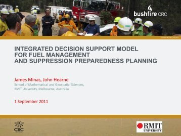 INTEGRATED DECISION SUPPORT MODEL FOR FUEL ...