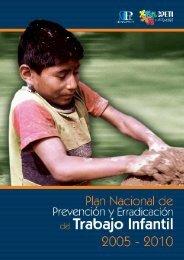 Plan Nacional para la Prevención y Erradicación del Trabajo Infantil