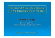 The Role of Noise and Dissipation in the Hadronization of the QGP