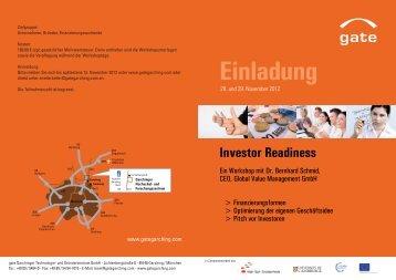 Investor Readiness
