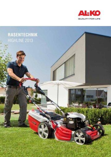 Zum Highline Katalog - AL-KO Garten + Hobby