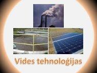 Vides tehnoloģijas