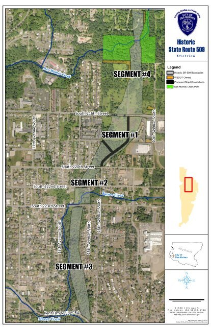 segment #1 segment #2 segment #3 segment #4 - City of Des ...