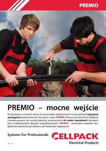 PREMIO – mocne wejście - Cellpack Electrical Products