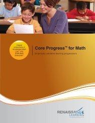 Core Progress™ for Math - Renaissance Learning