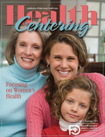 Summer, 2011 - Fulton County Health Center