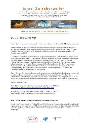 Woche 01.10. bis 07.10.2012 - IDG