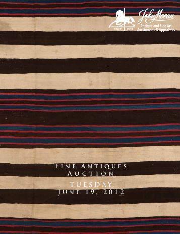 TUESDAY June 19, 2012 Fine Antiques A u c t i o n - California Art ...