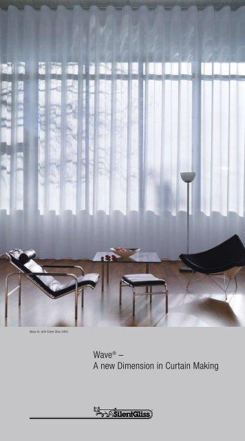 Silent Gliss Wave Heading Brochure - Justpoles.com