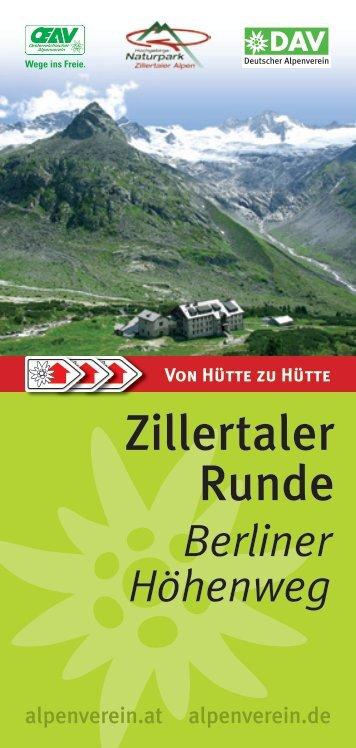 Berliner Höhenweg - Zillertal