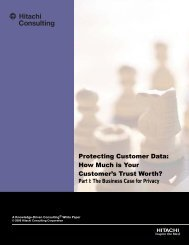 Protecting Customer Data: How Much is Your Customer's Trust Worth?