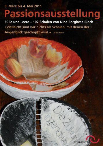 Flyer Begleitheft zur Ausstellung - offene kirche