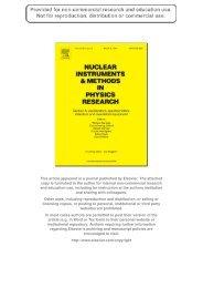 Neutron production in a Pb/U-setup irradiated with 0.7 ... - E & T - RAW