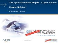 The open-sharedroot Projekt - a Open Source Cluster ... - netways