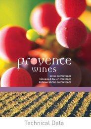 ONNEES TECHNIQUES - Vins de Provence