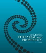Converting Potential into Prosperity - New Zealand Ministry of ...