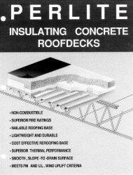perlite insulating concrete roof-decks II - Europerl